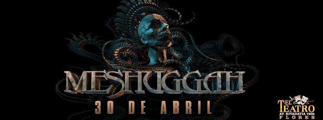 MESHUGGAH nuevamente en Argentina