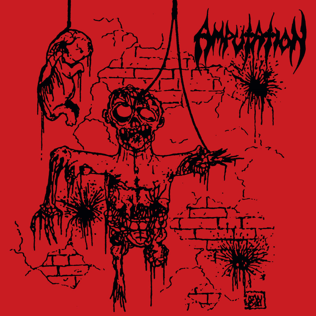 "AMPUTATION ""Slaughtered In The Arms of God"""