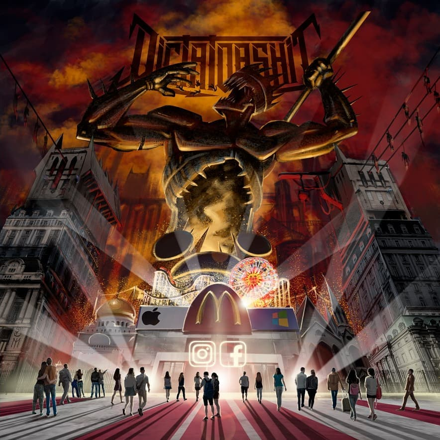 "DICTATORSHIT ""Marcha Funesta"" (EP) & ""Masacre al Sur"" (CD)"