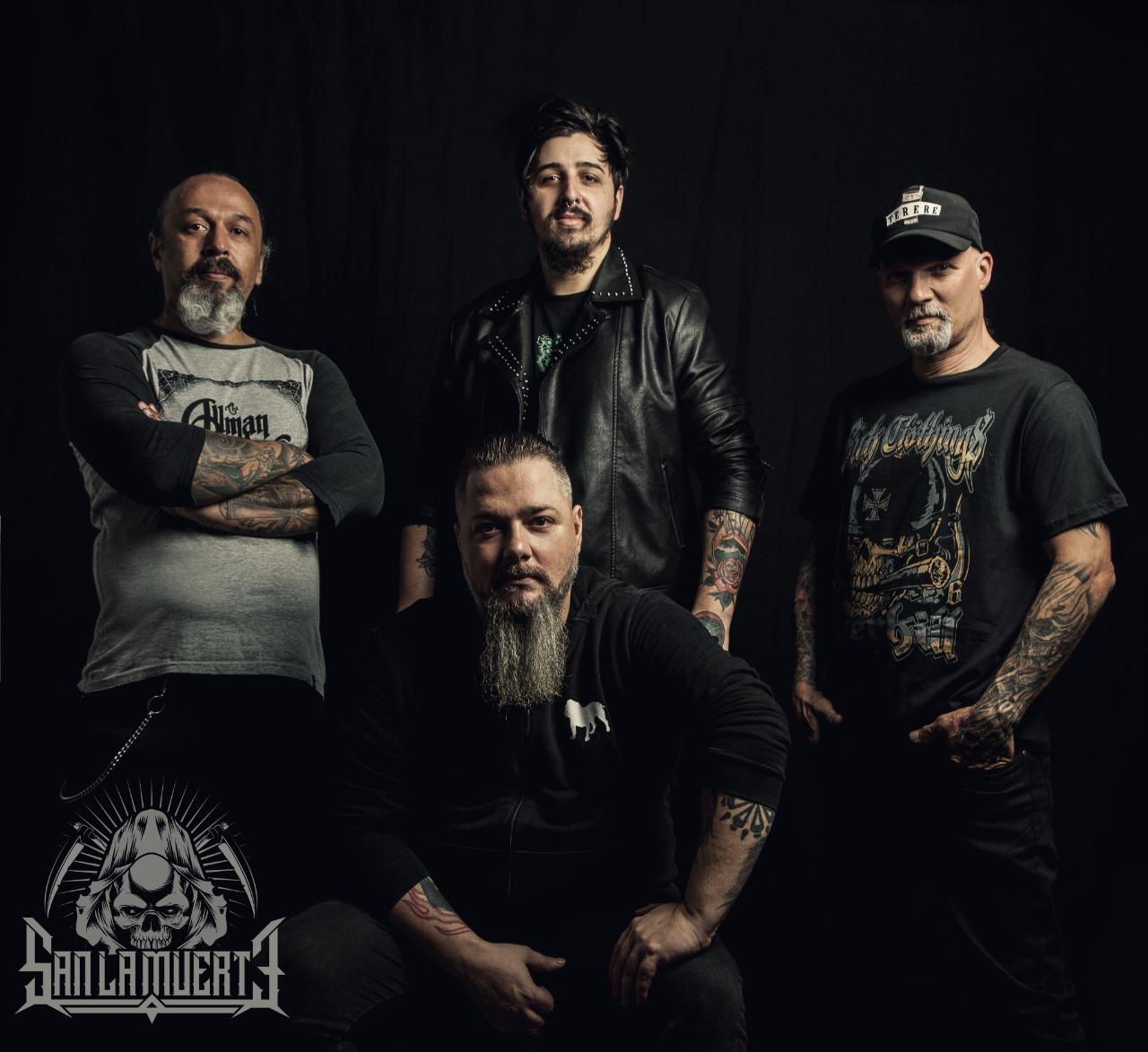Los Brasileños SAN LA MUERTE estrenan single tributo a los legendarios V8